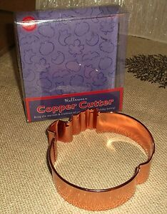 Wilton Copper Pumpkin Cookie Cutter Thanksgiving Autumn Fall Halloween New