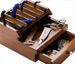 Jewelers Watch Tool Wooden Organizer Park Your Pliers $35.99