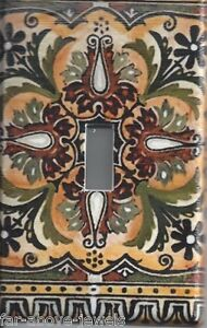 Light Switch Plate Switchplate Cover ITALIAN TILE