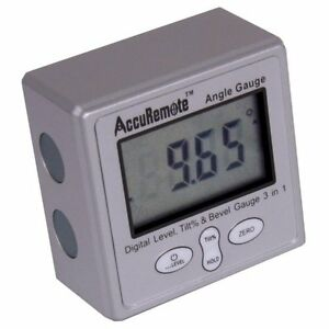Digital Angle Cube Gage Electronic Gauge Sea Level Protractor Magnetic Base NEW $28.95