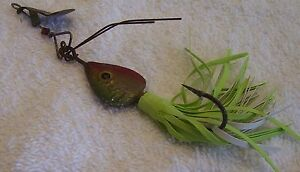 #1 1 2 ARBOGAST HAWAIIAN LURE STORE ITEM #15 NEW TAIL