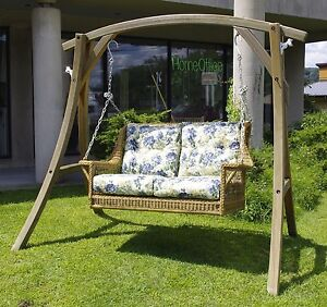 All Weather Outdoor Wicker Montclair Double Swing