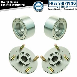 Front Wheel Hub & Bearing Pair Set for 98-02 Honda Accord 4 Cylinder