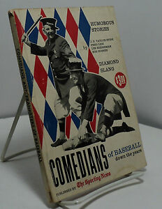Comedians of Baseball Down the Years by Spink Lieb Biederman Burnes $27.99