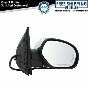 Mirror Power Folding Heated Memory Puddle Signal Chrome Right for GM Pickup SUV $118.79