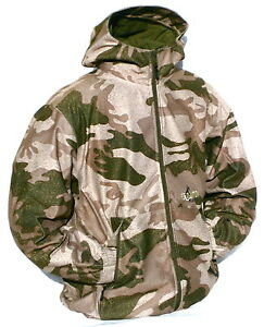 Cabela#x27;s Outfitter Camo Dry Plus 100% Waterproof Windproof Silent Hunting Jacket