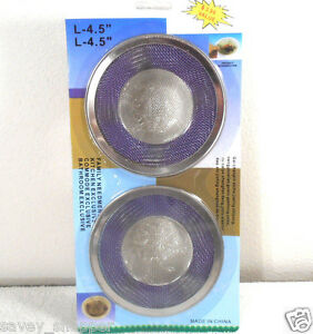 SINK SCREENS STRAINERS 1 PACK OF 2PC.  SCREEN