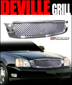 For 2000 2005 Cadillac Deville Chrome Honeycomb Mesh Front Hood Bumper Grille $74.00