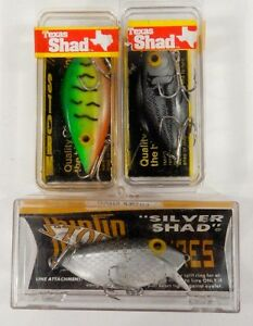 Lot of 6 Assorted Vintage Storm Mfg Co Pre-Rapala Fishing Lures New In Box