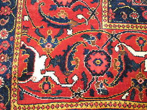 Antique Persian Senneh Oriental Rug 13'x25' Hand Knotted Wool Superb!! Very Fine