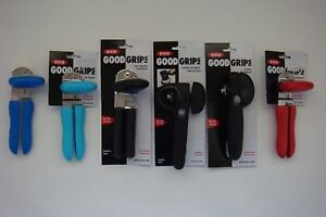 New OXO Soft Works Grips Can Opener Aqua * Red *Green * Blue * Black