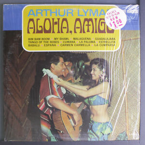 ARTHUR LYMAN: Aloha Amigo LP (shrink) Easy Listening
