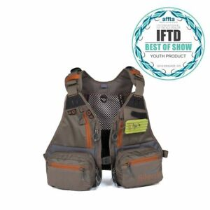 NEW FISHPOND TENDERFOOT YOUTH  LADIE'S FLY FISHING VEST IN CYCLEPOND FABRIC