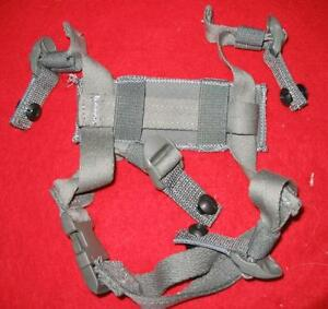 MICH ACH HELMET 4 PT CHIN STRAP KIT FOLIAGE GREEN NEW