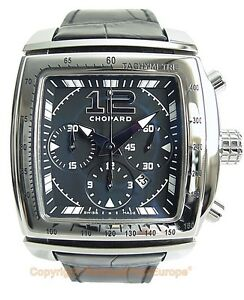 CHOPARD TWO O TEN Tycoon Sport Chronograph Watch 168462 BoxPapersWarranty NEW