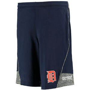 Under Armour Detroit Tigers Navy Performance Loose Fit Tech Shorts