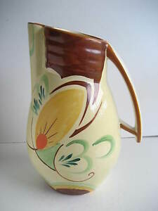 beswick pottery hand painted jug or pitcher 119