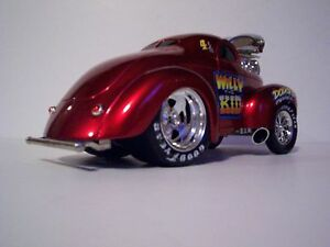 muscle machines 1941 willys coupe 1 18 scale