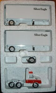 silver eagle doubles 95 winross truck