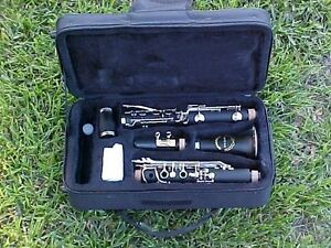 CLARINETS BANKRUPTCY SALE NEW INTERMEDIATE CONCERT BAND CLARINET W YAMAHA PADS $149.99