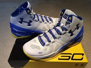 Under Armour UA Stephen Curry 2 Dub Nation Shoes Men's Sz 9 9.5 10 New Home