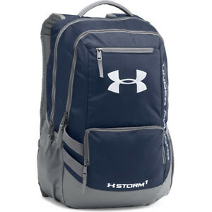 Under Armour Storm Hustle Ii Mens Rucksack - Midnight Navy Stealth Grey One Size