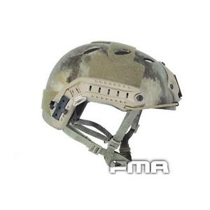 FMA FAST Helmet-PJ TYPE Tactical Helmet A-tacs For Airsoft Paintball