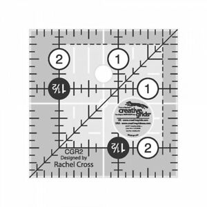 Creative Grids Quilting Ruler 2 1 2quot; Square $8.99