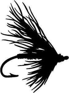 Fly Bait Decal STOF #1 Fishing Truck Boat Vinyl Stickers