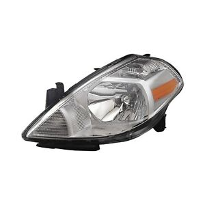 For Nissan Versa 07-12 Replace Driver Side Replacement Headlight Remanufactured