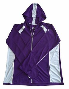 Under Armour Women's Purple Jam Loose Heat Gear Hooded Top S M L XL