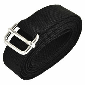 Travel Nylon Adjustable Suitcase Luggage Strap Belt Buckle Black 2.5 x 200cm $8.52