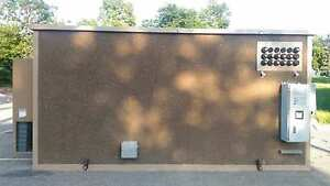 Concrete Communication Shelter Cabins Hunting Storage BLDG 10#x27; x 20#x27;