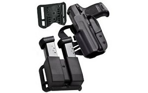 Blade-Tech HOLX0086IDPAPKO0080BLK IDPA Competition Pack For Glock 172231 RH
