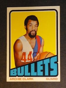 1972 Topps Archie Clark #120 Bullets NM 002