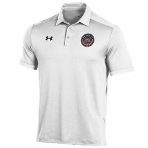 Under Armour Auburn Tigers White Special Event Performance Polo - College