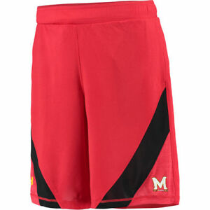 Under Armour Maryland Terrapins Red Microstripe Performance Shorts