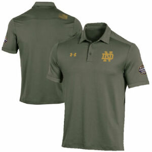 Under Armour Notre Dame Fighting Irish Green 2016 Shamrock Series Polo