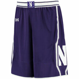 Under Armour Northwestern Wildcats Purple Replica Basketball Shorts -