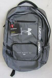 Under Armour UA Hustle II Storm 1 HBO The Night Of Promo Backpack Gray NWT