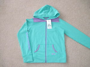 NWT UNDER ARMOUR GIRLS HOODIE YOUTH LARGE ZIP FRONT ALL SEASON GEAR