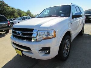 2017 Ford Expedition King Ranch 2017 Ford Expedition King Ranch 5 Miles White Platinum Metallic Tri-Coat Sport U