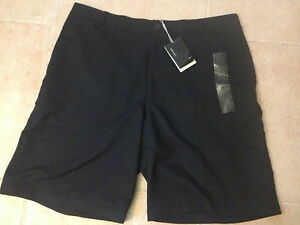 NIKE GOLF FIT-DRYSPHERE DRY BLACK SIZE 40 SHORTS NEW WTAG POLYESTER TIGER WOOD