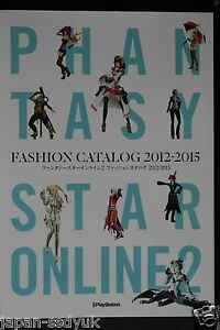 JAPAN Phantasy Star Online 2 Fashion Catalog 2012-2015