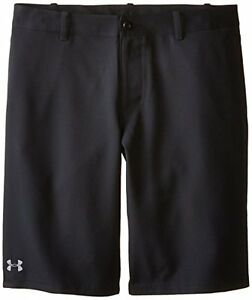 Under Armour Boys' Medal Play Short Black Graphite XL