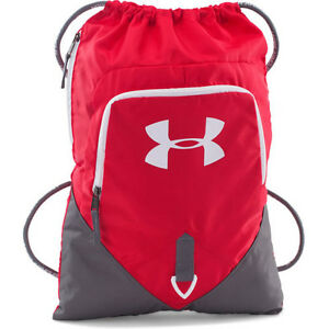 Under Armour Undeniable Sackpack Mens Bag Gym - Red One Size