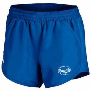 Under Armour Kansas City Royals Women's Royal Fly By Performance Running Shorts