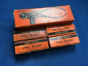 Vintage LYMAN IDEAL no. 310 reloading tool with dies