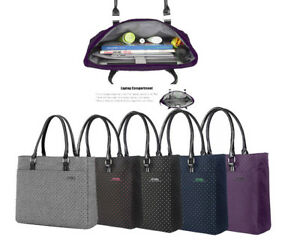 Laptop Tote Bag Women 15 Inch Notebook Computer Briefcase Handbag for Dell HP PC