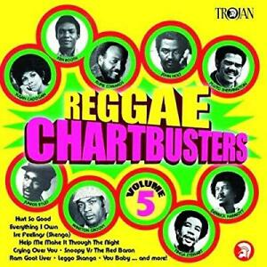 Reggae Chartbusters Vol. 5 - Various Artists (NEW CD)